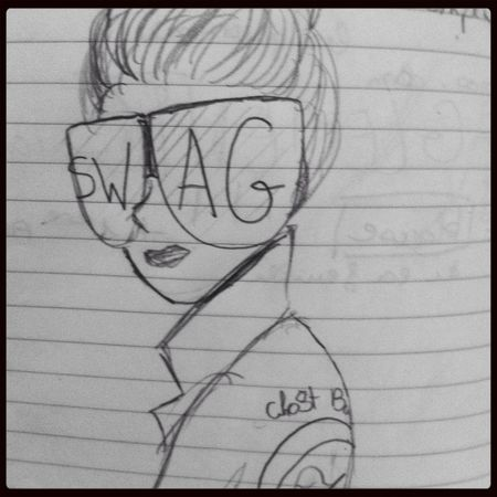 Ay. I Love My Sunglasses. Drawing Check This Out Swag