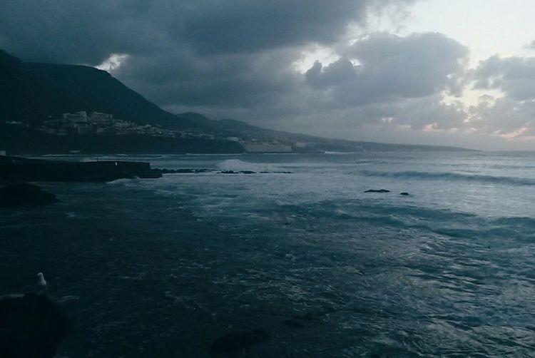 The night is dark and full of terrors. Stormy Sky Storm Stormy Sunset Tenerife La Laguna