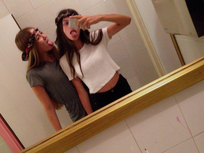 Last night Me and Leticia 😈💜