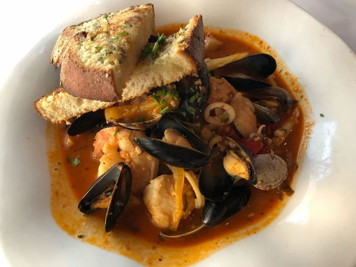 Cioppino Food Photography Restaurant Delicious Cioppino Food Food And Drink Ready-to-eat Serving Size No People Freshness Indoors  Seafood High Angle View