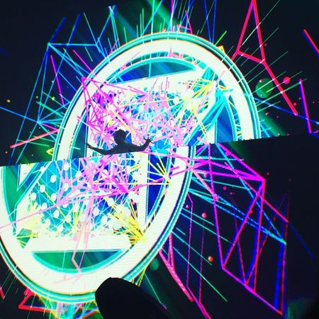 Arts Culture And Entertainment Close-up Concert Dj Illuminated Jumping Lights Low Angle View Multi Colored Music Zedd EyeEmNewHere EyeEmNewHere