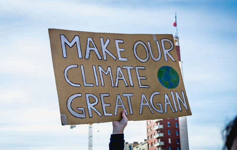 Fridaysforfuture ClimateStrike Fridays For Future Day Green Color Greta Thunberg Pollution March 12 2019. World Earth Save Protest Protesters March Savetheplanet Save The World Save The Nature Climate Climate Change Global Warming Warming Youth Young Adult Sign Make Our Climate Great Again Turin My Best Photo