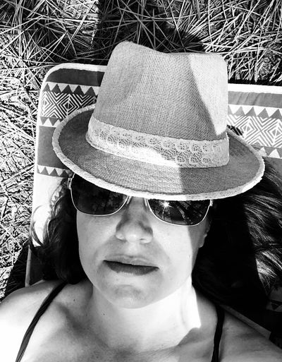 Hat Headshot One Person Real People Clothing Portrait The Portraitist - 2018 EyeEm Awards Sun Hat Day Young Women Lifestyles Leisure Activity Sunlight Sunglasses Fashion Glasses Young Adult