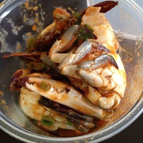 Kim Chi Crab Poke
