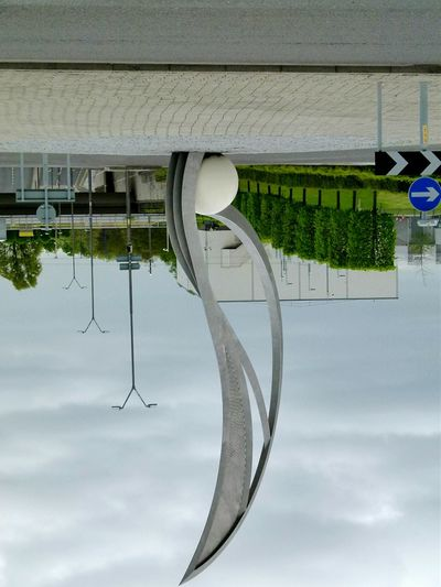 Looking At Life Upside-down Upside Down Upsidedown Upsidedownit! Upsidedownpic Architecture Manchester Roundabout