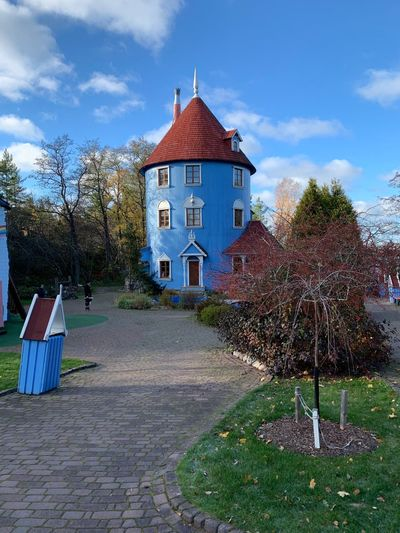 Moomin house Moomin World Moomin House Architecture Building Exterior Plant Built Structure Sky Building Nature No People Outdoors Cloud - Sky