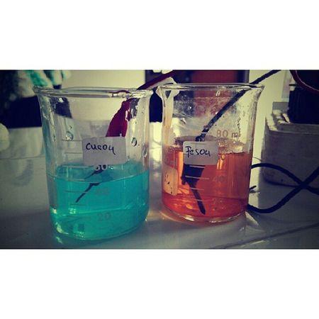 Praktikum Kimia CuSO4 FeSO4 selvolta lab