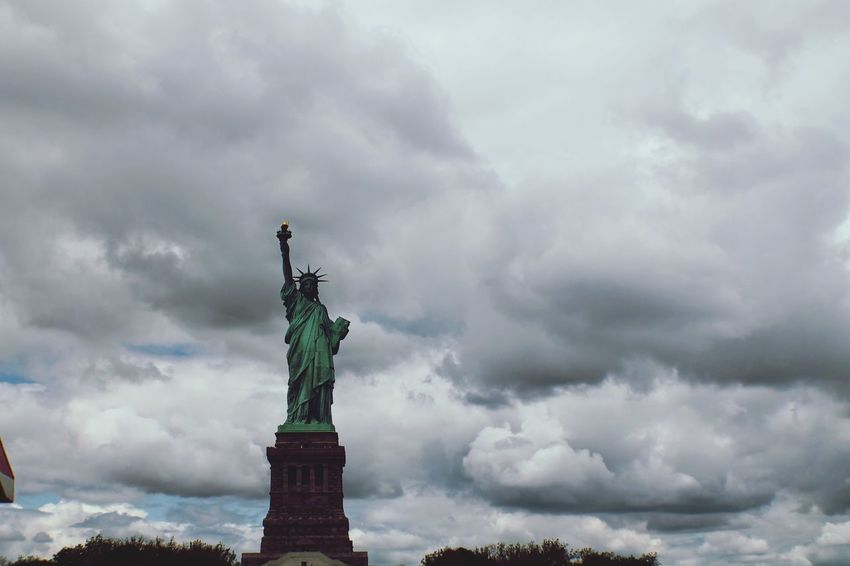Statue of Liberty Sky Vacations Tourist Resort Outdoors Water Sea liberty