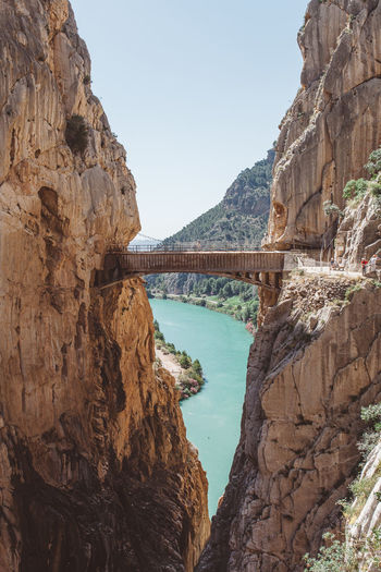 Caminito del Rey, Andalucia, Spain Adventure Andalucía Andalusia Ardales Bridge Bridge - Man Made Structure Caminito Del Rey Malaga Mountain Nature Rocks SPAIN