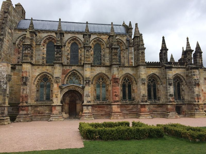 Arch Architecture Building Exterior Built Structure Day History No People Outdoors Rosslyn Chapel Sky Travel Destinations Water