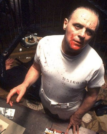 The Silence of the Lambs 1991 Colorful Style Swag Love 90s Picoftheday Food Instadaily Instafollow Followme Girl Me TBT  Cute Happy Nostalgia Nostalji 90lar Celebs Hollywood Hannibal AnthonyHopkins