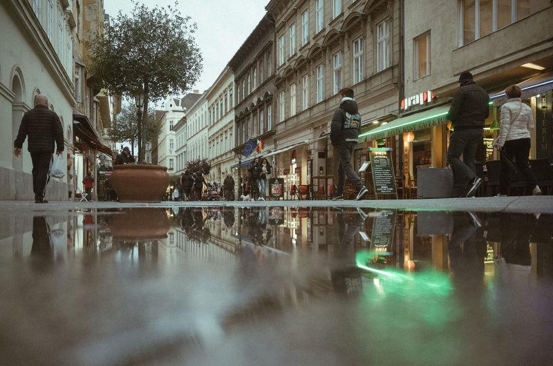 Rainy Days Reflection City Streetphotography Water