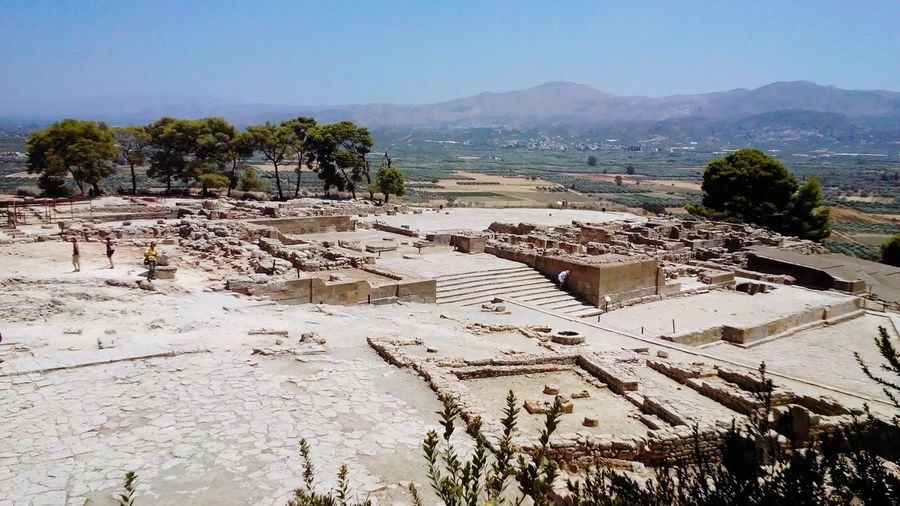Archeology Archeologymuseum Faistos Greece Greece, Crete Crete Crete Island Civilization Civilization And Culture Disk Mountain Rocky Mountains The Architect - 2018 EyeEm Awards