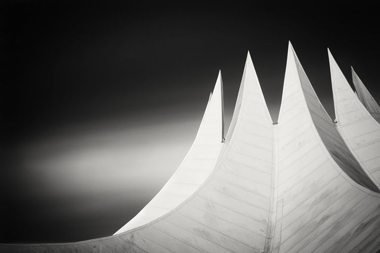 Low Angle View Of Tempodrom Against Sky