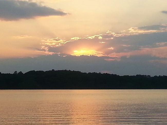Sunset Lake Relaxing Safehaven Beautiful Nature Hidden Gems  Outdoors Serenity Calming Fishing Landscapes With WhiteWall