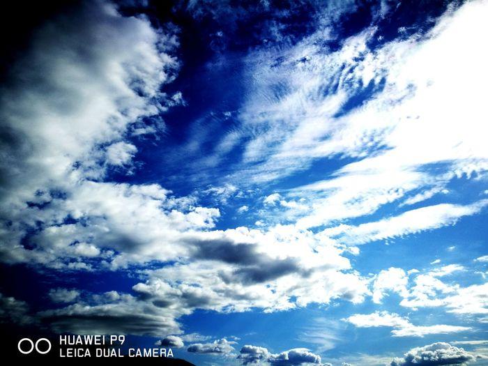 Blue Backgrounds Sky Only Sky Cloud - Sky First Eyeem Photo