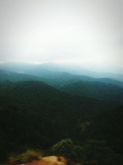 Evening Fog No People Taking Photos Samsung Galaxy S III Fog Mountains Traveling to Dharmasthala