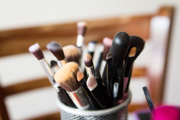Close-Up Of Make-Up Brush