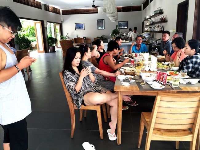 Summer series 03. Last summer in Phan Thiet, Vietnam sSittingfFood And DrinktTogethernessfFriendshiplLastsummersSummer16 lLarge Group Of PeopleeEatingfFoodlLifestylesiIndoors yYoung AdultrReal PeoplemMenwWomenyYoung WomensSocial GatheringdDayaAdultpPeopleaAdults Only