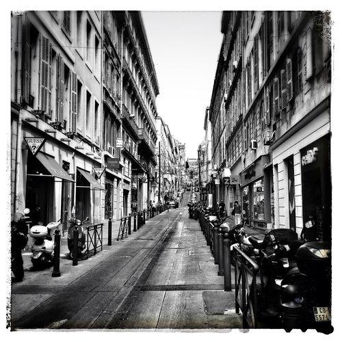 Marseille in B&W ... Blackandwhite NEM Black&white Provence