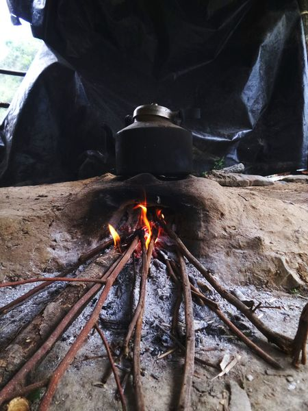 Daily Essentials Fire Cooking Dried Sticks Rural Life Chulha Relaxing Tea Time Travel Photography Travelling Eyemphotography Randomshot No People Basicsin Chakrata Uttarakhand Uttarakhandculture