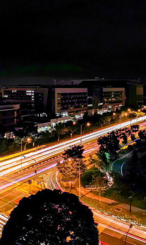 Light trail HUAWEI Photo Award: After Dark City Illuminated Road Car Traffic