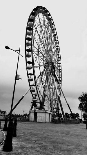 Ferris Wheel Amusement Park Ride Sky Arts Culture And Entertainment Outdoors Day First Eyeem Photo