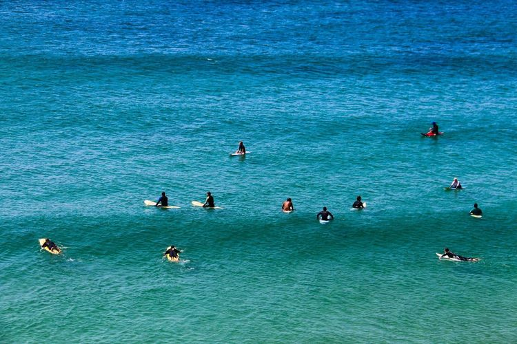 Surfer wait Portugal Surfing Life Surfingphotography Surfing Blue Waiting Wait Sea Algarve Surf Surfers Paradise Surfers Surfer Lost In The Landscape Be. Ready.