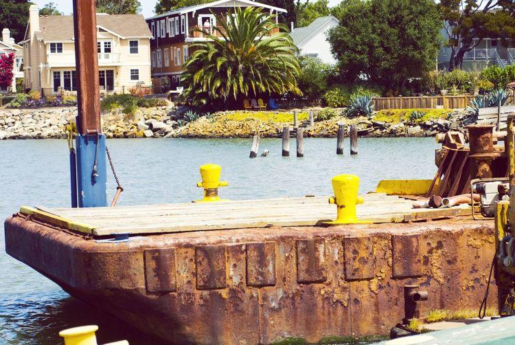 """""""View To The Adirondack's"""" Adirondacks Adirondack Chairs Adirondackchairs Chairs Barge Barges Waterfront Dock Docks"""
