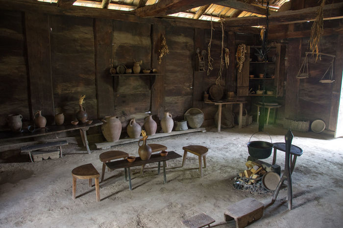 Open-Air Ethnographic museum Georgia The Week On EyeEm Cellar Chair Day Ethnographic Fireplace Indoors  No People Stool Workshop