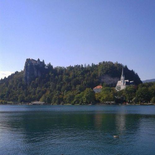 Lake Bled Slovenia Lovely Summer