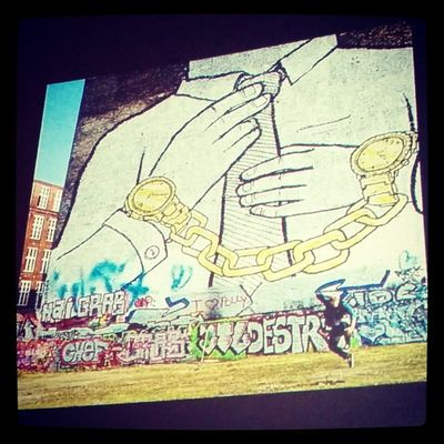 Time Money Slave Office yolo graffiti Ted tedx TEDxWarsaw street art