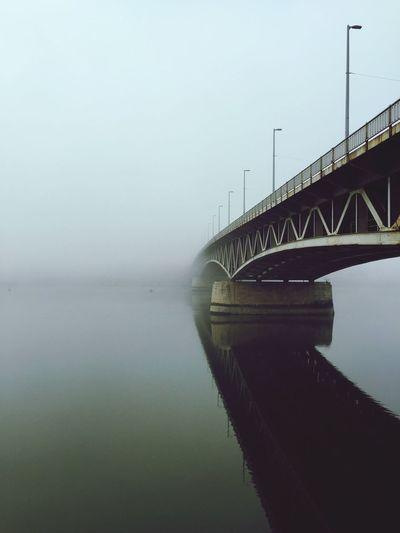 Fog Bridge First Eyeem Photo Found On The Roll