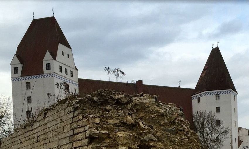 I Love My City Ingolstadt Neues Schloss Street Architecture History lost