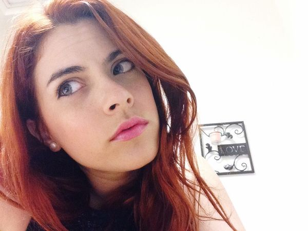 Redhead Style Eyeemwoman Portrait Beautiful Girl Sexywomen Sexygirl That's Me Hello World Faces Of EyeEm Love Pinklips