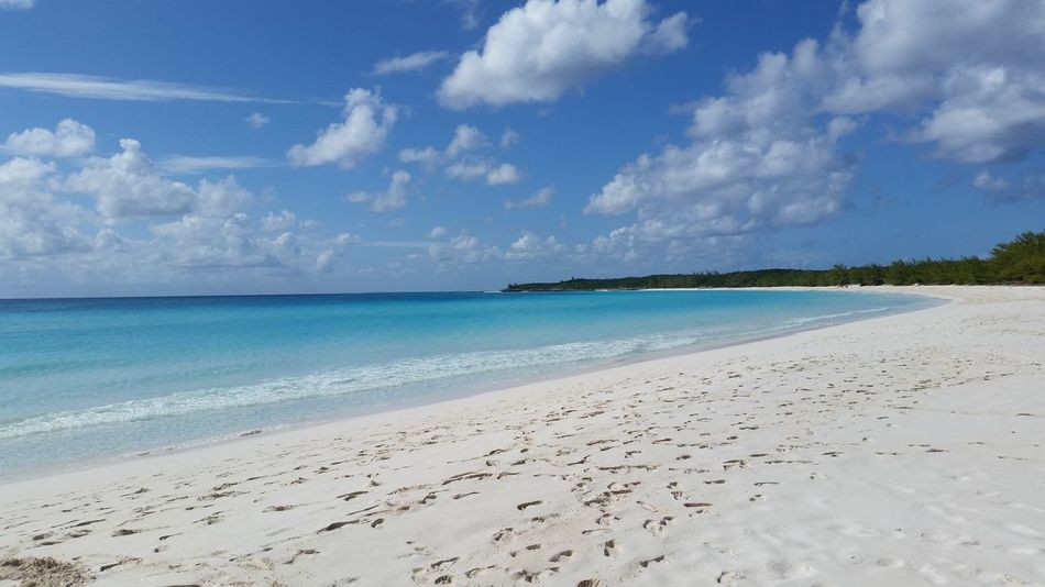 Footprints in the sand Beach Life Beach Beachphotography Blue Water Pristine Beachday Beautiful Half Moon Cay Ocean