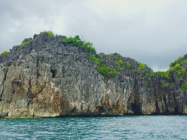 Caramoaan Island hopping :) Nature Rock Formation Sea Green Nature Beach
