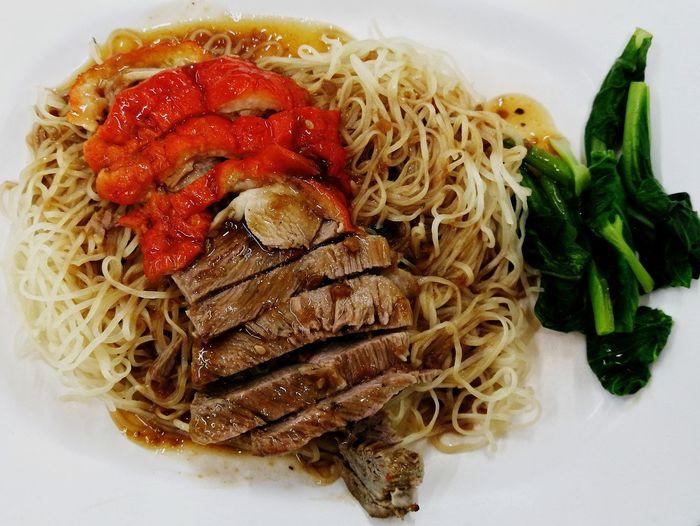 บะหมี่เป็ดย่าง2 บะหมี่เป็ด บะหมี่ อาหารจีน อร่อย Food And Drink Food Healthy Eating Freshness Vegetable No People Ready-to-eat