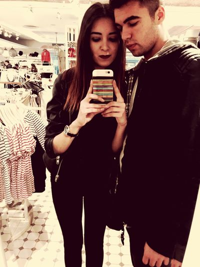 Shopping Withmylove Tiringday But We Are Ready To Shopping