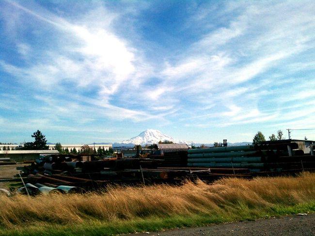 Mt. Rainier Rural Landscape