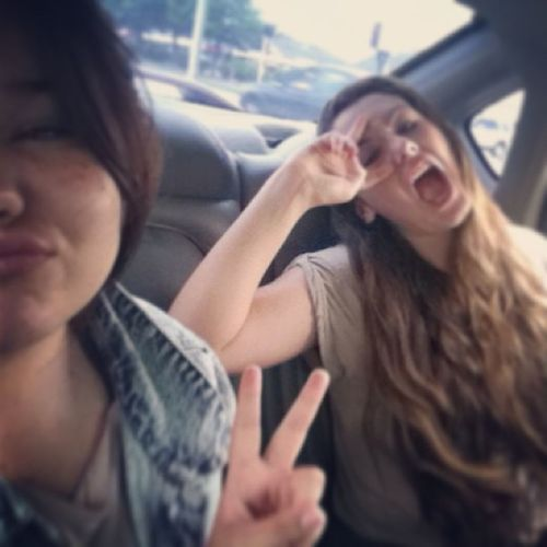 I.LOVE.HER? Bestfriend Cousin Loveyou Somuch car rides haha