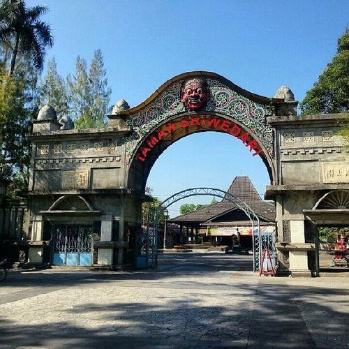 Sunday morning Gate Sriwedari Surakarta INDONESIA ...