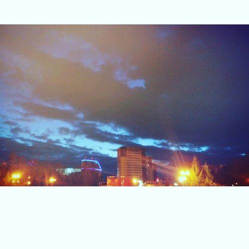 Night Winter Sky No People Modern Nature
