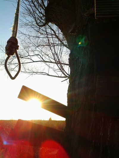 Beautiful Sunset Bang On Target Whats Next? Just Around The Corner Hanging Out Further I Dont Know..dont Wanna Know Bdsm? Ropes? Kinky! Enjoying Life
