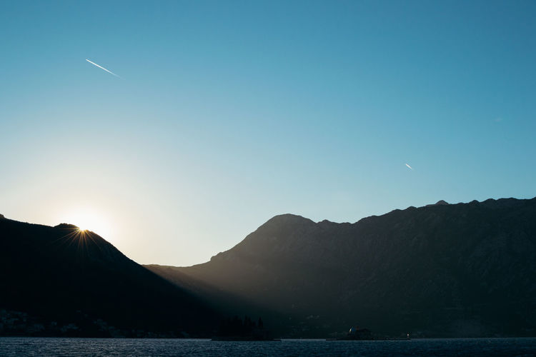 Montenegro Holidays Summer Mountains Mountain Sunset Freedom Open Space Blue Sky