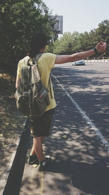 Adventure Club Hitchhiking Traveling Autostop