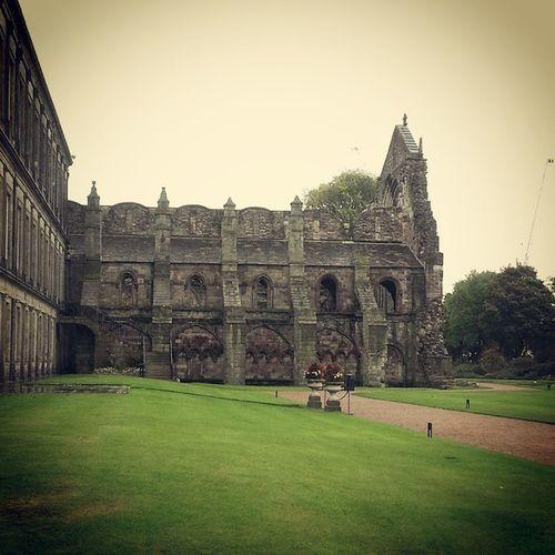 Abbey ruins @HollyroodHouse Edinburgh Scotland HollyroodHouse