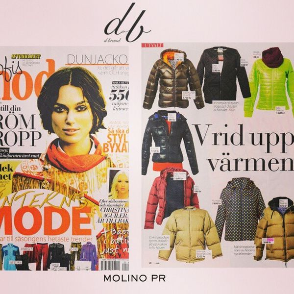 Fashion Mode Dbrand Jacket Blogg Trend Styling 2006 Sweden SOFIS Mode PRDown Jacket