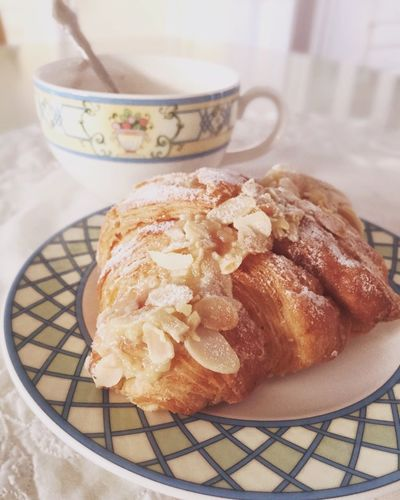 Pastel Power Croissant Tee Time Good Morning! Cup Of Tea Cup Of Coffee Perfect Breakfast Breakfast IPS2016StillLiife My Favorite Breakfast Moment Brown Close-up Dessert Focus On Foreground Food Food And Drink Freshness French Food Indulgence No People Still Life Temptation Ready-to-eat