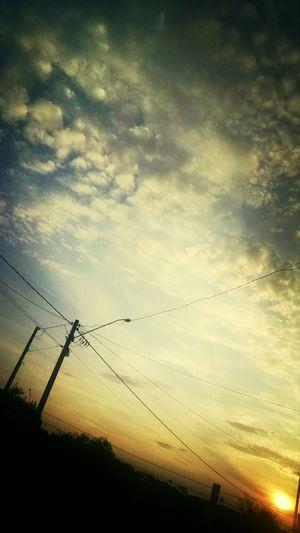 Amando esse fim de tarde' <3
